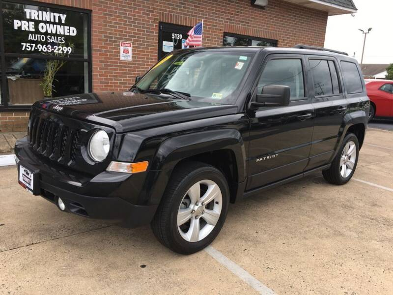 2016 Jeep Patriot for sale at Bankruptcy Car Financing in Norfolk VA