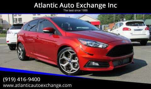 2018 Ford Focus for sale at Atlantic Auto Exchange Inc in Durham NC