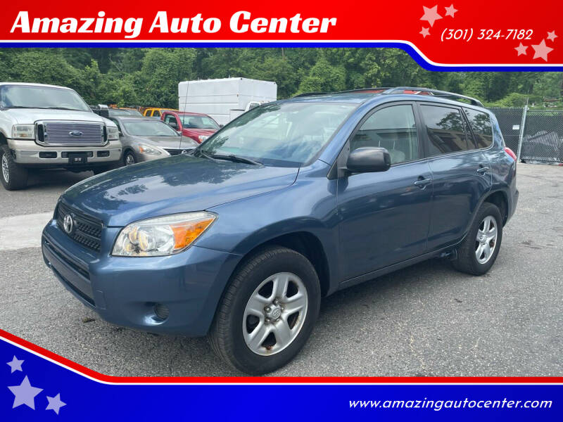 2008 Toyota RAV4 for sale at Amazing Auto Center in Capitol Heights MD