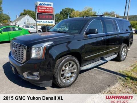 2015 GMC Yukon XL for sale at Warren Auto Sales in Oxford NY