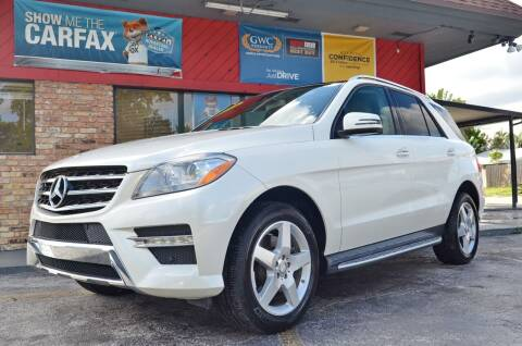 2014 Mercedes-Benz M-Class for sale at ALWAYSSOLD123 INC in North Miami Beach FL