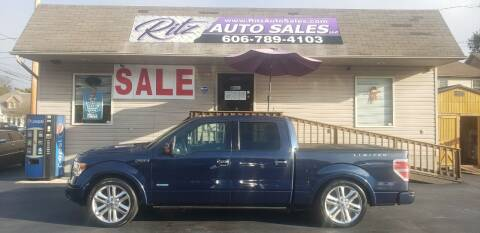 2014 Ford F-150 for sale at Ritz Auto Sales, LLC in Paintsville KY