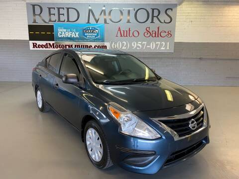 2015 Nissan Versa for sale at REED MOTORS LLC in Phoenix AZ