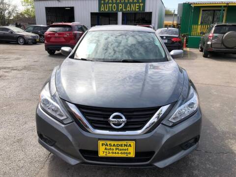 2016 Nissan Altima for sale at Pasadena Auto Planet in Houston TX