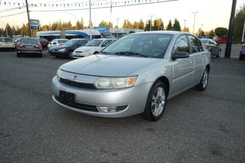 2003 Saturn Ion for sale at Leavitt Auto Sales and Used Car City in Everett WA