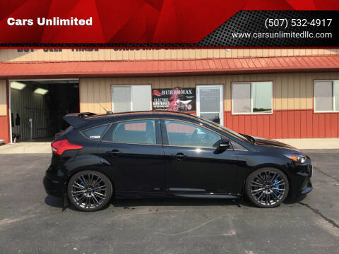 2017 Ford Focus for sale at Cars Unlimited in Marshall MN