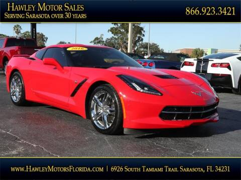 2016 Chevrolet Corvette for sale at Hawley Motor Sales in Sarasota FL