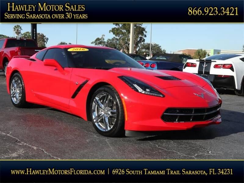 2016 Chevrolet Corvette for sale at Hawley Motor Sales in Sarasota FL
