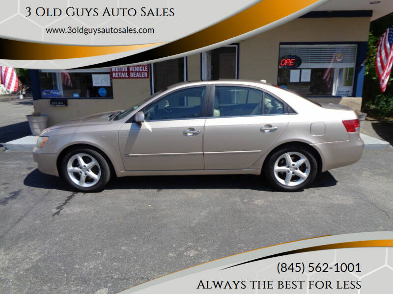 2007 Hyundai Sonata for sale at 3 Old Guys Auto Sales in Newburgh NY