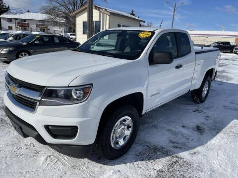 2018 Chevrolet Colorado for sale at CHRISTIAN AUTO SALES in Anoka MN