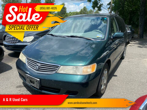 2000 Honda Odyssey for sale at A & R Used Cars in Clayton NJ