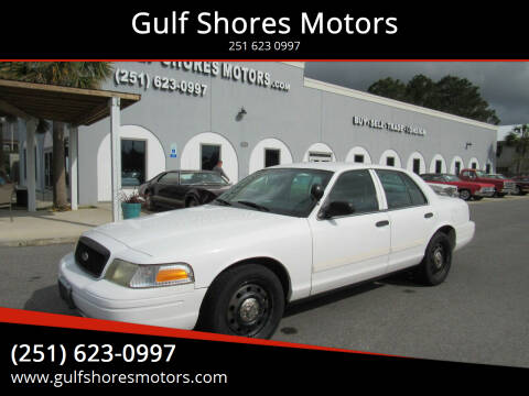 2011 Ford Crown Victoria for sale at Gulf Shores Motors in Gulf Shores AL