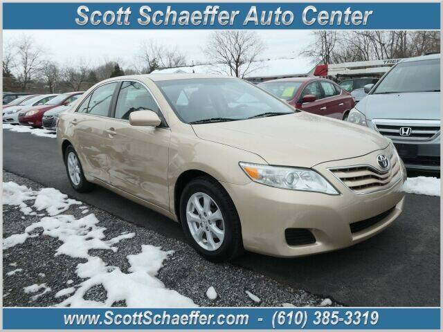 2011 Toyota Camry for sale at Scott Schaeffer Auto Center in Birdsboro PA