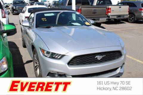 2016 Ford Mustang for sale at Everett Chevrolet Buick GMC in Hickory NC