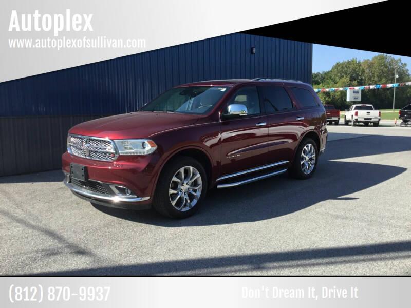 2018 Dodge Durango for sale at Autoplex in Sullivan IN