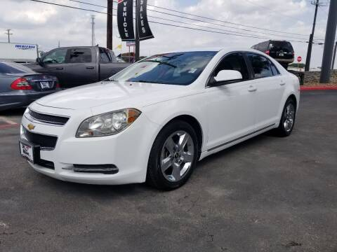 2010 Chevrolet Malibu for sale at ON THE MOVE INC in Boerne TX