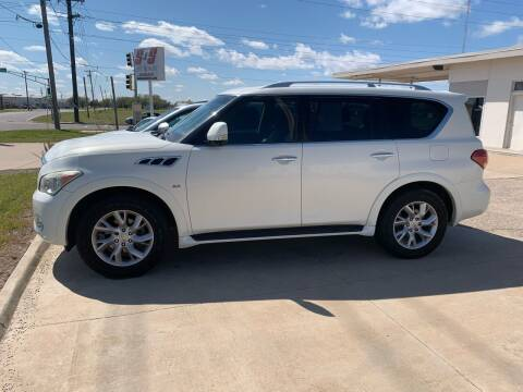 2014 Infiniti QX80 for sale at S & S Sports and Imports in Newton KS