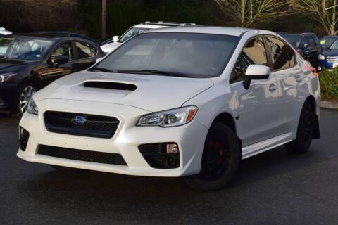 2016 Subaru WRX for sale at Mudarri Motorsports - Championship Motors in Redmond WA