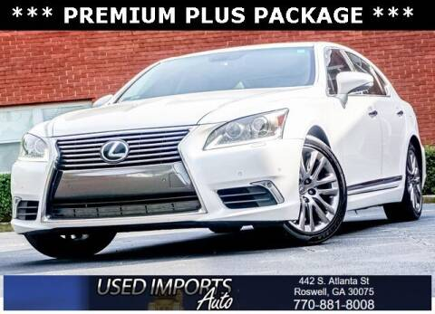 2017 Lexus LS 460 for sale at Used Imports Auto in Roswell GA