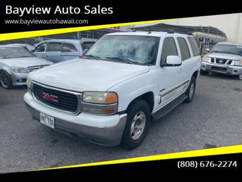 2003 GMC Yukon for sale at Bayview Auto Sales in Waipahu HI