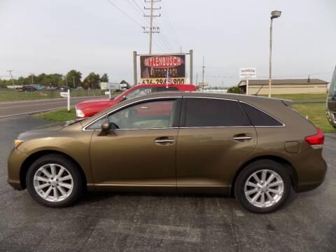 2010 Toyota Venza for sale at MYLENBUSCH AUTO SOURCE in O'Fallon MO