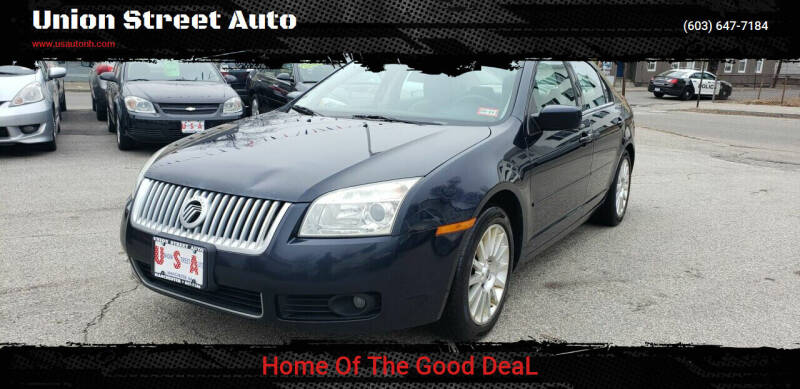 2009 Mercury Milan for sale at Union Street Auto in Manchester NH