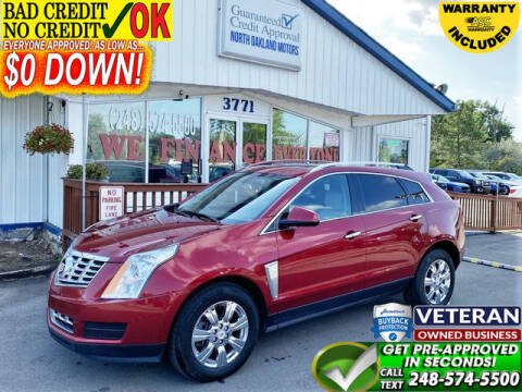 2016 Cadillac SRX for sale at North Oakland Motors in Waterford MI