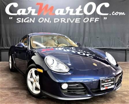 2010 Porsche Cayman for sale at CarMart OC in Costa Mesa CA