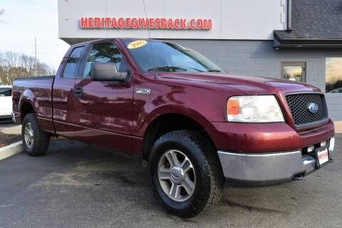 2005 Ford F-150 for sale at Heritage Automotive Sales in Columbus in Columbus IN