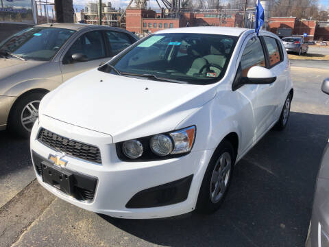 2016 Chevrolet Sonic for sale at Car Guys in Lenoir NC