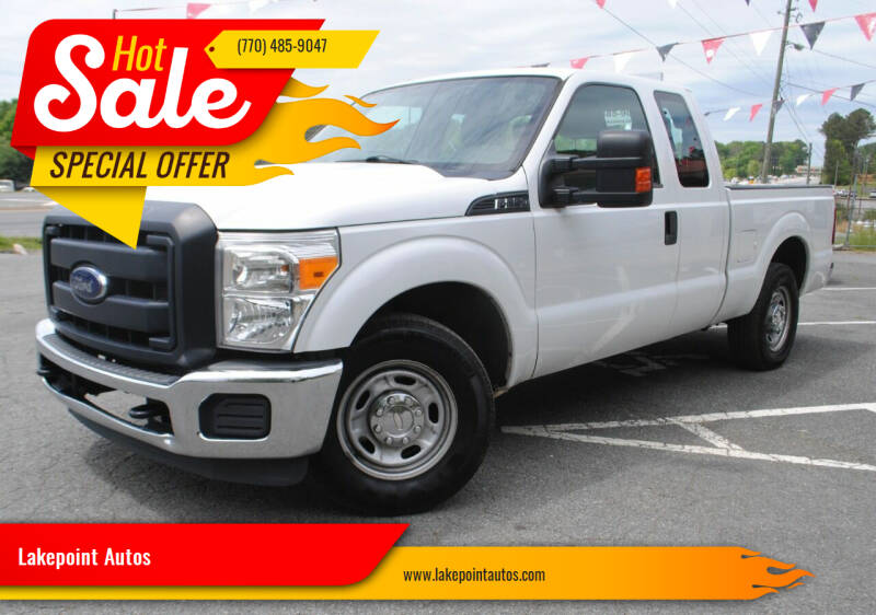 2013 Ford F-250 Super Duty for sale at Lakepoint Autos in Cartersville GA