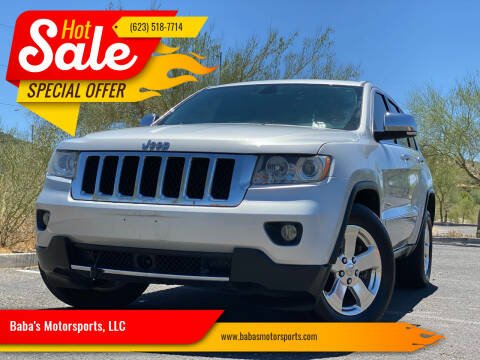 2011 Jeep Grand Cherokee for sale at Baba's Motorsports, LLC in Phoenix AZ