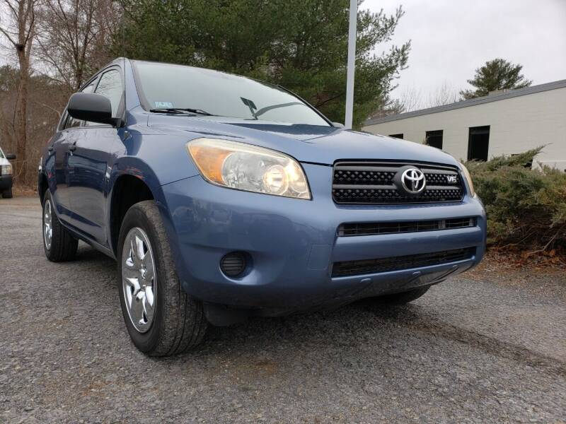2007 Toyota RAV4 for sale at Jacob's Auto Sales Inc in West Bridgewater MA