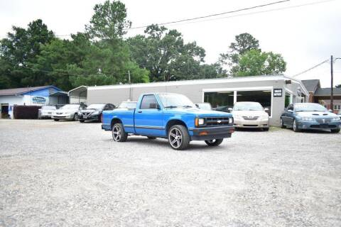 1991 Chevrolet S-10 for sale at Barrett Auto Sales in North Augusta SC
