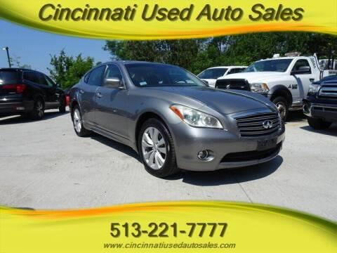 2011 Infiniti M37 for sale at Cincinnati Used Auto Sales in Cincinnati OH