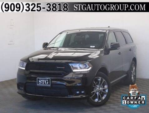 2019 Dodge Durango for sale at STG Auto Group in Montclair CA