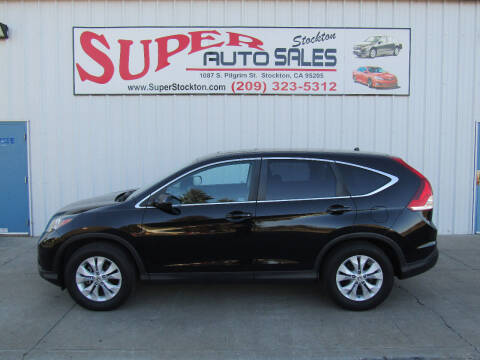 2014 Honda CR-V for sale at SUPER AUTO SALES STOCKTON in Stockton CA