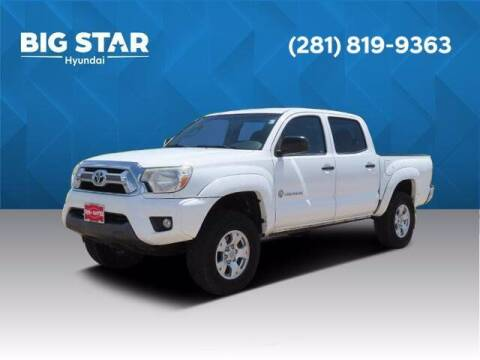 2015 Toyota Tacoma for sale at BIG STAR HYUNDAI in Houston TX