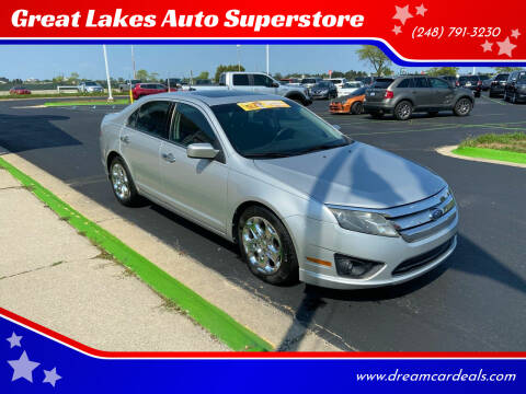 2010 Ford Fusion for sale at Great Lakes Auto Superstore in Waterford Township MI