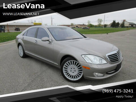 2007 Mercedes-Benz S-Class for sale at LeaseVana in Saginaw MI