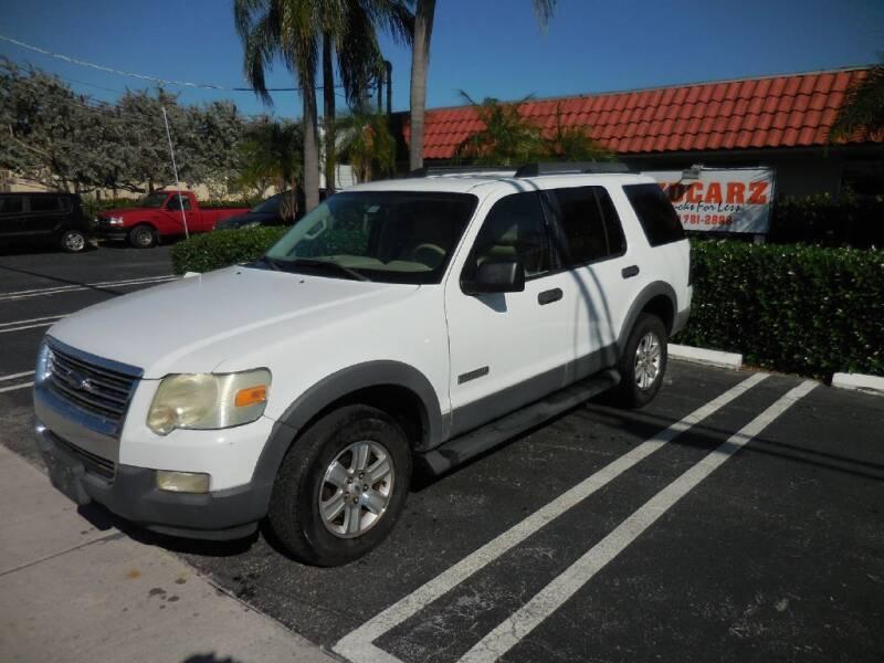 2006 Ford Explorer for sale at Uzdcarz Inc. in Pompano Beach FL