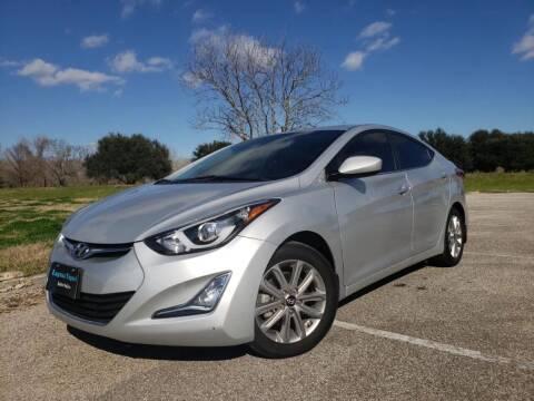 2015 Hyundai Elantra for sale at Laguna Niguel in Rosenberg TX