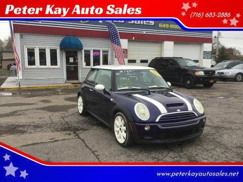 2005 MINI Cooper for sale at Peter Kay Auto Sales in Alden NY