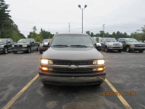 2002 Chevrolet Silverado 1500 for sale at Heritage Truck and Auto Inc. in Londonderry NH