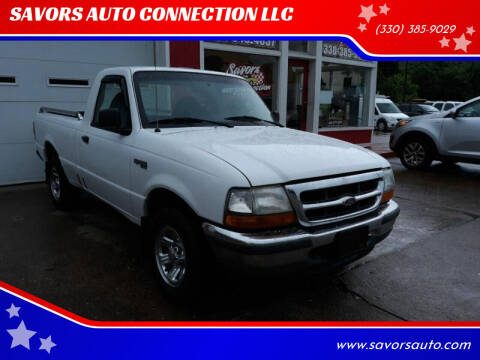 2000 Ford Ranger for sale at SAVORS AUTO CONNECTION LLC in East Liverpool OH
