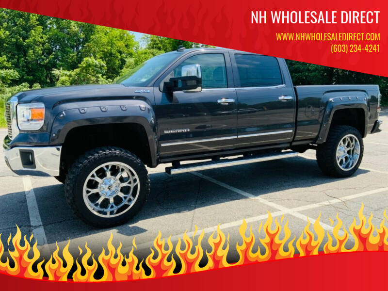 2014 GMC Sierra 1500 for sale at NH WHOLESALE DIRECT in Derry NH