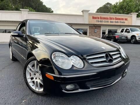 2008 Mercedes-Benz CLK for sale at North Georgia Auto Brokers in Snellville GA
