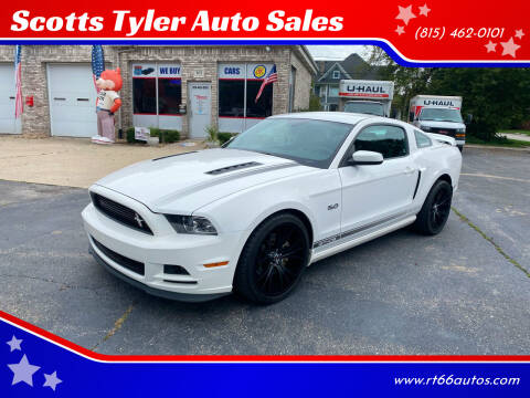 2013 Ford Mustang for sale at Scotts Tyler Auto Sales in Wilmington IL