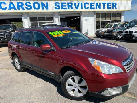 2012 Subaru Outback for sale at Carson Servicenter in Carson City NV