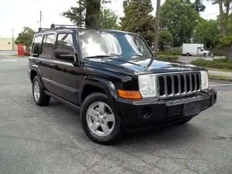 2007 Jeep Commander for sale at CORTEZ AUTO SALES INC in Marietta GA